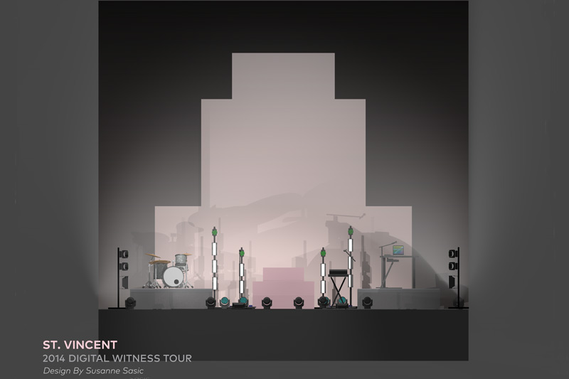 st. vincent stage rendering