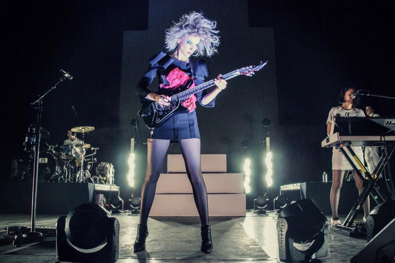 st. vincent stage design