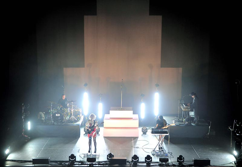 St. Vincent stage design photo