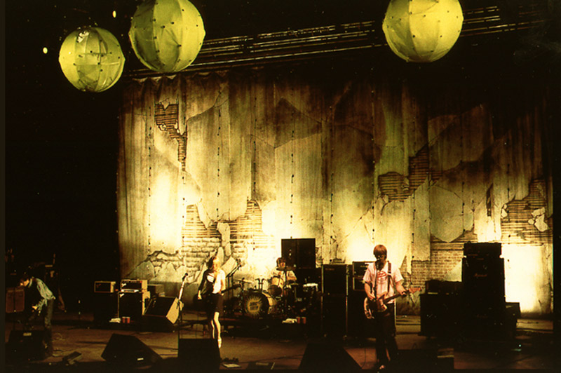 Sonic Youth tour photo