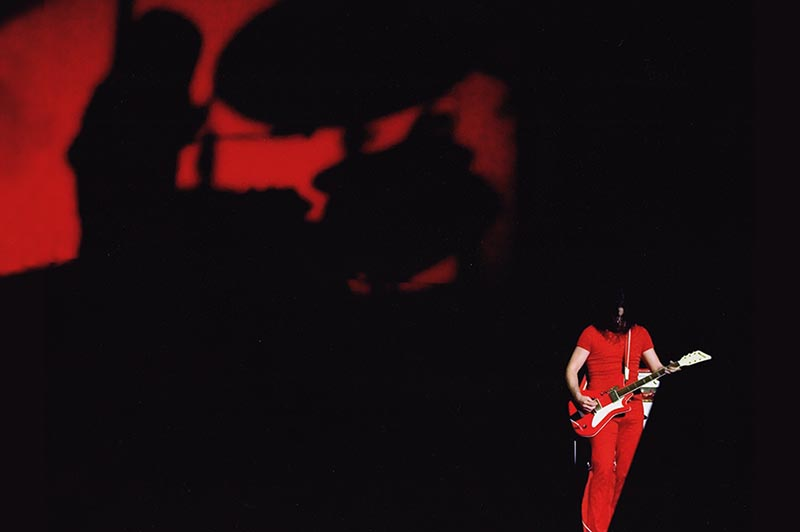 White Stripes tour photo